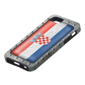 Bandera croata industrial funda para iPhone SE/5/5s