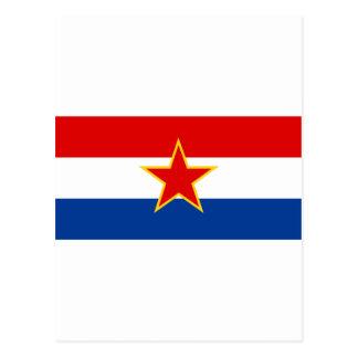 Bandera croata, zastava del hrvatska postales