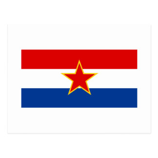 Bandera croata, zastava del hrvatska tarjetas postales