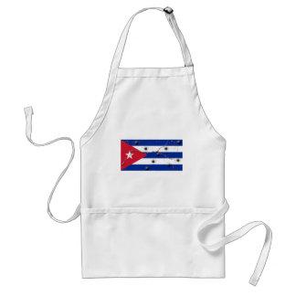 Bandera cubana delantales