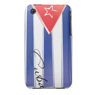Bandera Cubana iPhone 3 Cárcasas