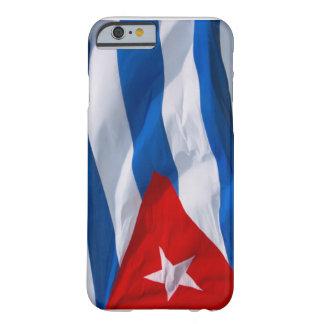 bandera cubana funda de iPhone 6 barely there