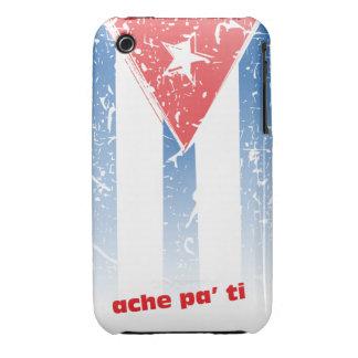 Bandera Cubana iPhone 3 Case-Mate Carcasa