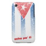 Bandera Cubana iPhone 3 Case-Mate Protectores