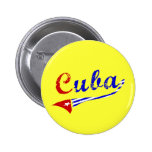Bandera cubana pins