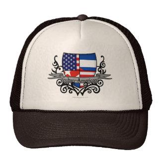 Bandera Cubano-Americana del escudo Gorro
