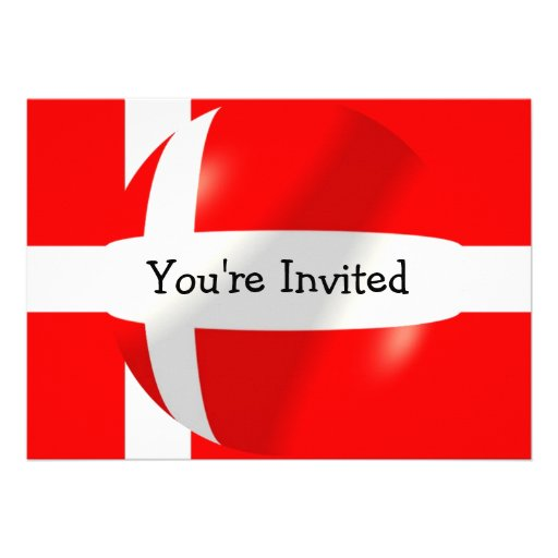 Bandera danesa comunicados personales