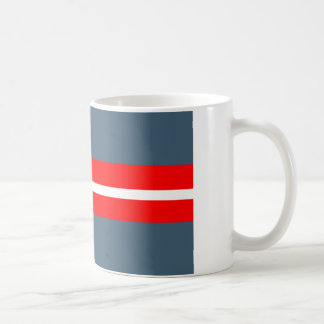 Bandera danesa de la resistencia taza de café