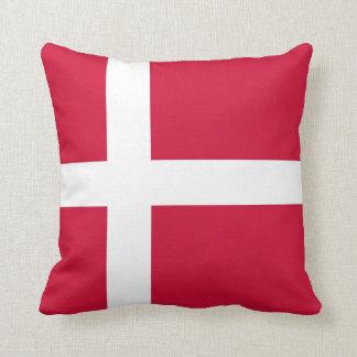 Bandera danesa en la almohada de MoJo del american