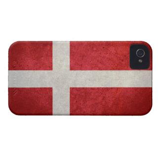 Bandera danesa iPhone 4 protector
