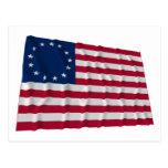 bandera de 13 estrellas, modelo de Betsy Ross Postal