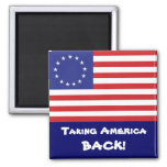 bandera de 13-Star los E.E.U.U. Iman Para Frigorífico