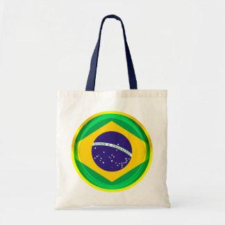 bandera de 3D el Brasil Bolsa Tela Barata