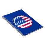 bandera de 3D los E.E.U.U.