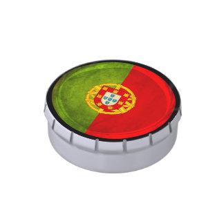 bandera de 3D Portugal Frascos De Dulces