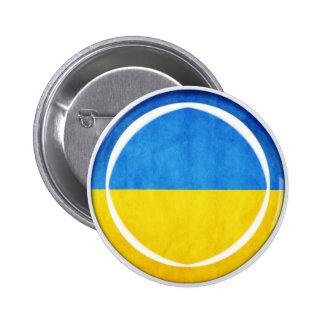 bandera de 3D Ucrania Pin
