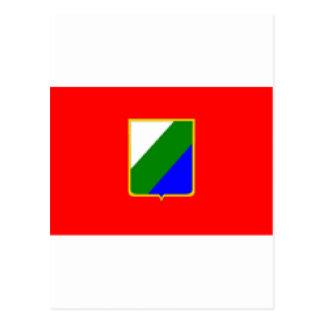 Bandera de Abruzos (Italia) Postales