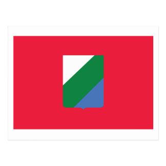 Bandera de Abruzos Postal