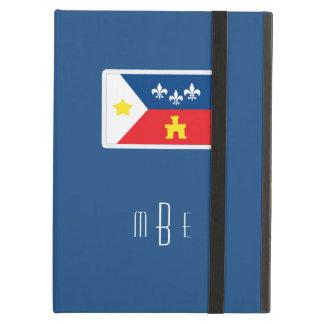 Bandera de Acadiana Cajun del monograma