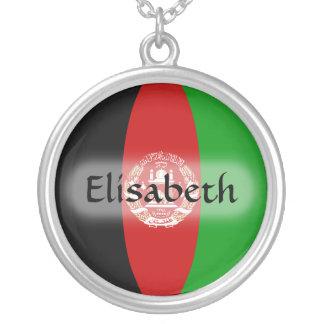 Bandera de Afganistán + Collar conocido