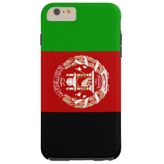 Bandera de Afganistan Funda De iPhone 6 Plus Tough