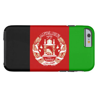 Bandera de Afganistan Funda De iPhone 6 Tough