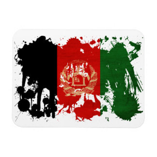 Bandera de Afganistán Rectangle Magnet