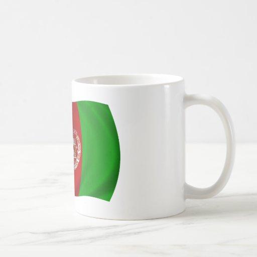 Bandera de Afganistán Taza De Café