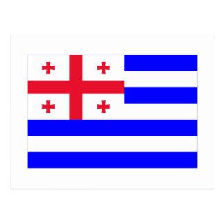 Bandera de Ajaria Postales
