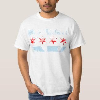 Bandera de Al Capone Chicago Playera