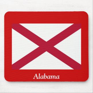 Bandera de Alabama Alfombrillas De Raton