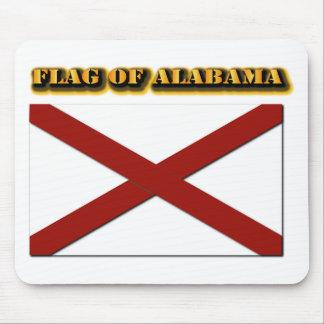 Bandera de Alabama Alfombrillas De Ratones