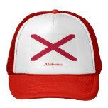 Bandera de Alabama Gorras