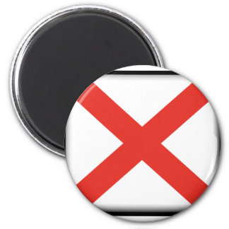 Bandera de Alabama Imán De Frigorífico