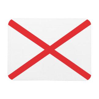Bandera de ALABAMA Rectangle Magnet