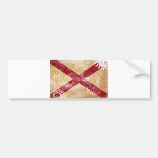 Bandera de Alabama Pegatina Para Auto