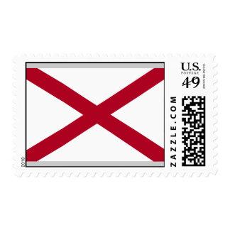 Bandera de Alabama Sellos