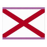 Bandera de Alabama Tarjetas Postales