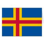 Bandera de Åland Felicitacion