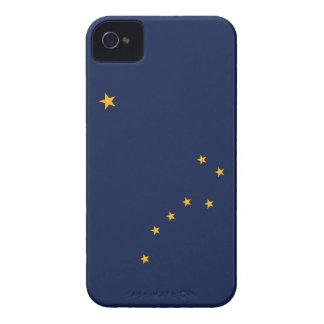 Bandera de Alaska Case-Mate iPhone 4 Cárcasas