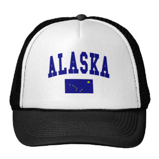 Bandera de Alaska Gorras