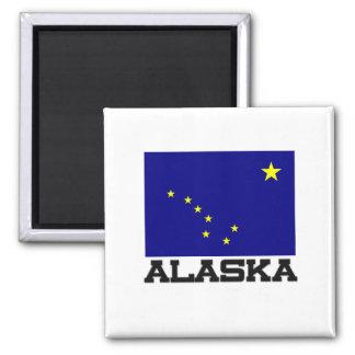 Bandera de Alaska Imán Para Frigorifico