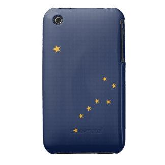 Bandera de Alaska iPhone 3 Carcasas