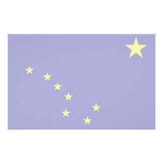 Bandera de Alaska Papelería De Diseño