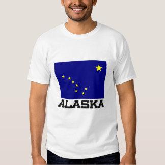 Bandera de Alaska Playeras
