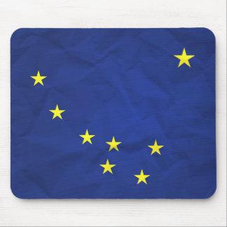 Bandera de Alaska Alfombrillas De Raton