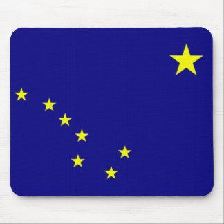 Bandera de Alaska Tapetes De Raton