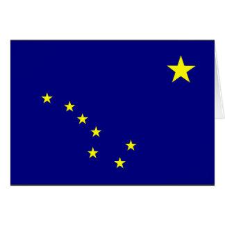 Bandera de Alaska Tarjeta De Felicitación
