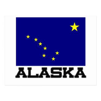 Bandera de Alaska Postales