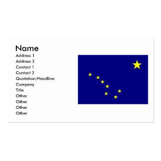 Bandera de Alaska Tarjetas De Visita